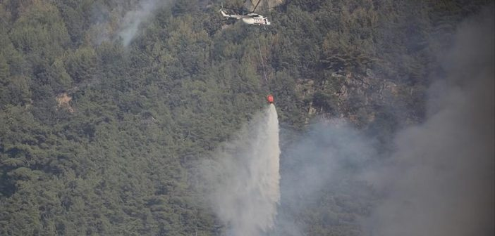217 forest fires contained, 6 ongoing in southwestern Turkey